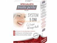 Efekty kuracji wybielającej Biała Perła Plus SYSTEM 5 DNI