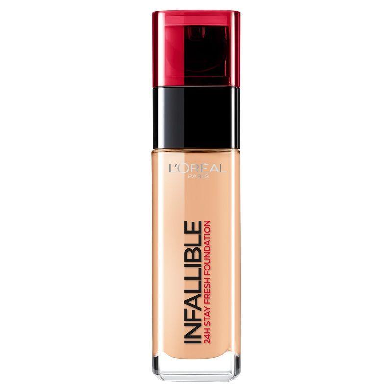 L'Oréal Paris Infallible 24h – nowość w świecie podkładów