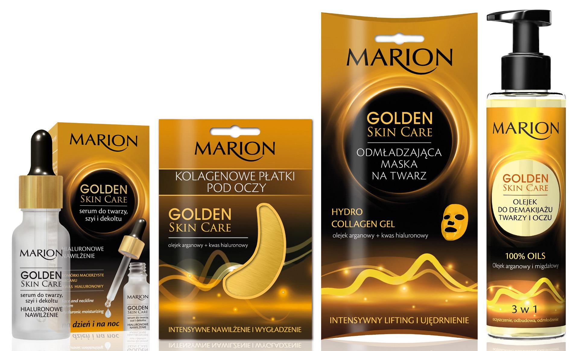Płatki kolagenowe Marion Golden Skin Care – zapowiedź testu