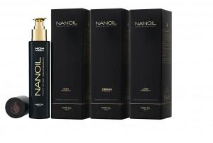 Nanoil - olejek to trzech typow porowatosci