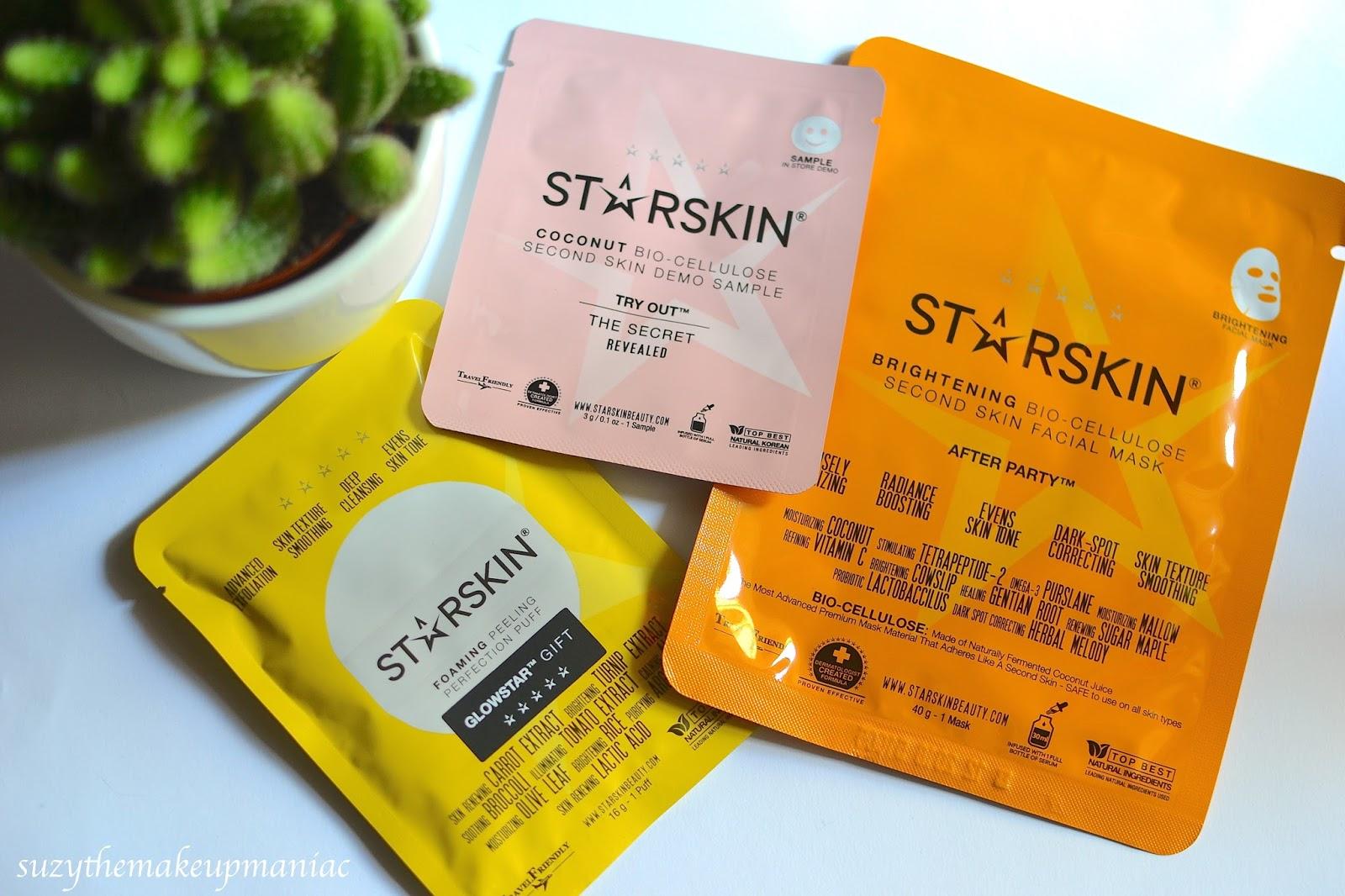 Peeling i biocelulozowa maska StarSkin (recenzja)