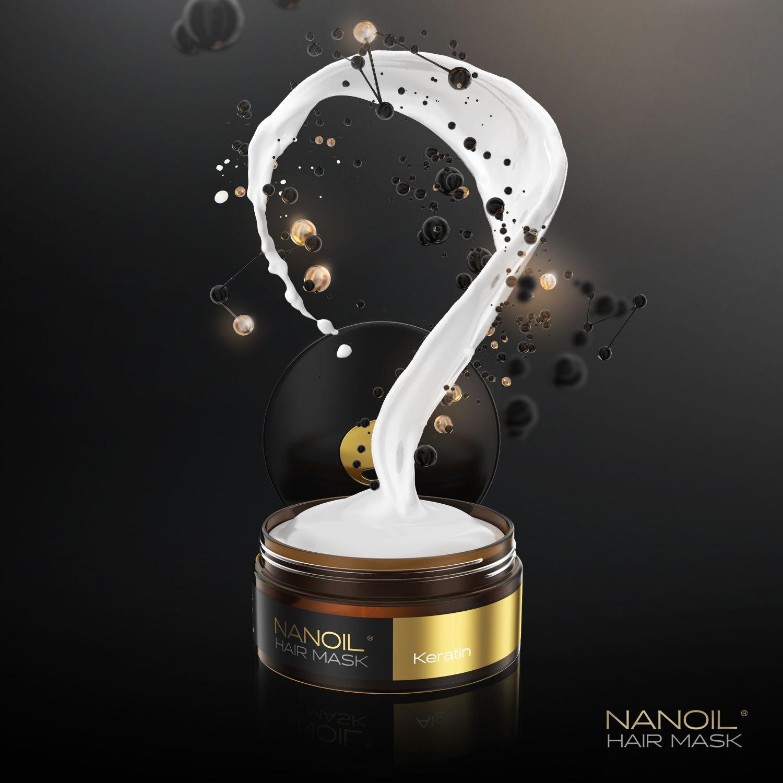nanoil keratin maseczka do włosów