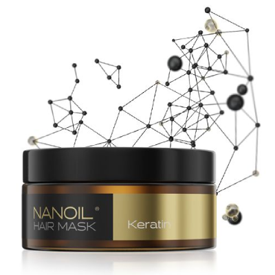 Nanoil - najlepsza maska do włosów z keratyną